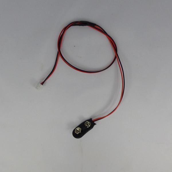 Adaptateur pile 9V pour recharge de secours