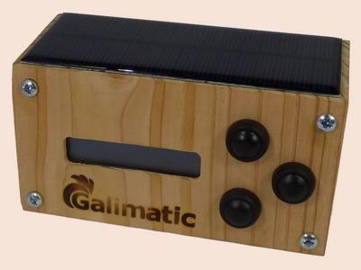 portier automatique pour trappe de poulailler Galimatic classique